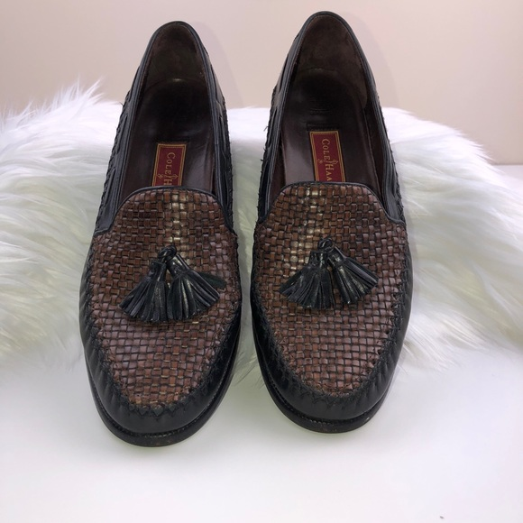 4cfa909ff72 Cole Haan Shoes - Cole Haan Country Tassel Woven Loafers